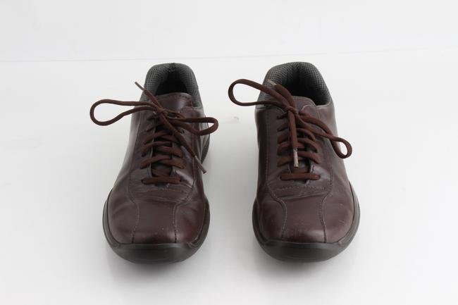 Item - Brown Leather Sneaker Shoes