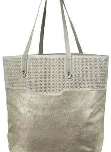 Stella & Dot Tote in Slate Grey Metallic