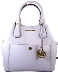 Michael Kors Leather 191262404689 Satchel in Blossom