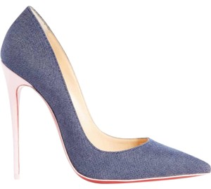 7f89a97a5968 Christian Louboutin Sokate Kate Pigalle Stiletto Classic blue Pumps