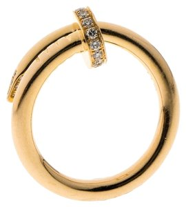 Cartier Juste Un Clou Diamond & 18k Rose Gold Ring 51