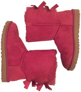 UGG Australia Bailey Bow Pink Bailey Bow Red Violet Boots