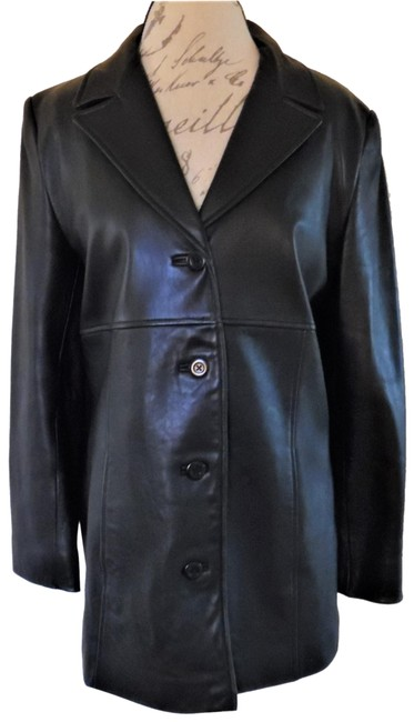 Preload https://img-static.tradesy.com/item/24442113/valerie-stevens-black-new-zealand-lambskin-super-soft-button-up-jacket-size-8-m-0-1-650-650.jpg