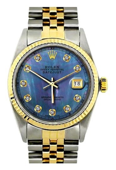 Preload https://img-static.tradesy.com/item/24442234/rolex-stainless-steel-and-gold-36mm-datejust-ss-diamond-with-box-and-appraisal-watch-0-0-540-540.jpg