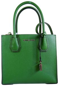 Michael Kors Leather 192317306309 Green Messenger Bag