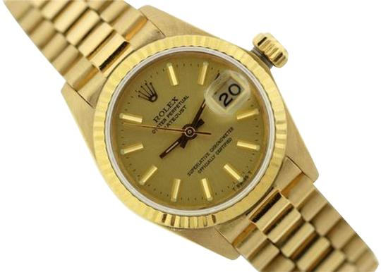 Preload https://img-static.tradesy.com/item/24442357/rolex-yellow-gold-ladies-presidential-datejust-18k-watch-0-1-540-540.jpg