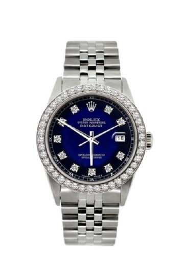 Preload https://img-static.tradesy.com/item/24442363/rolex-stainless-steel-men-s-datejust-ss-diamond-with-box-and-appraisal-watch-0-0-540-540.jpg