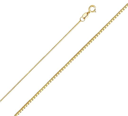 Preload https://img-static.tradesy.com/item/24442364/yellow-14k-gold-06mm-box-chain-24-necklace-0-1-540-540.jpg