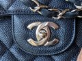 Chanel Single Flap Jumbo Caviar Quilted Jumbo Shoulder Bag Image 7