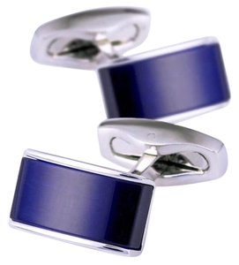 Other Navy Blue High Quality Detail Cufflinks