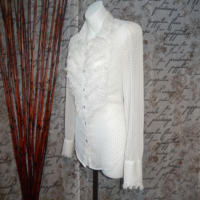 Free People Button Down Shirt White Image 1