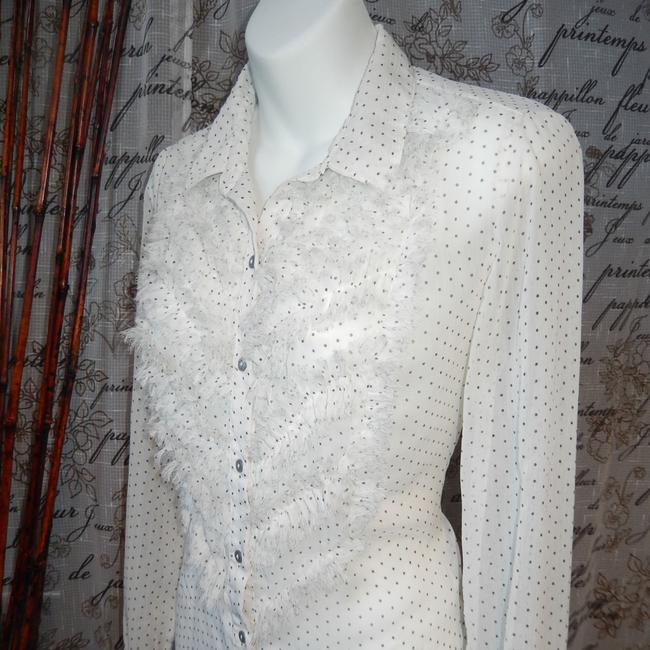 Free People Button Down Shirt White Image 2