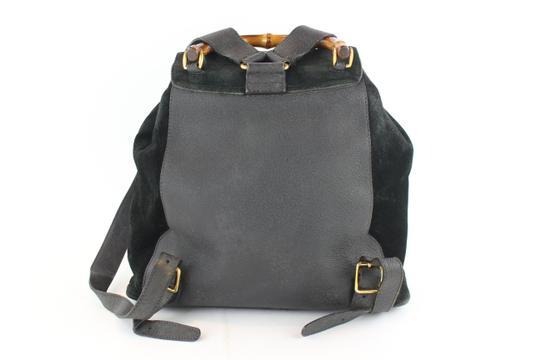 Gucci Book School Bamboo Suede Backpack Image 7