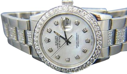 Preload https://img-static.tradesy.com/item/24442437/rolex-white-mother-of-pearl-men-s-datejust-6-ct-diamond-w-box-and-appraisal-watch-0-1-540-540.jpg