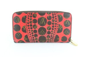 Louis Vuitton Sprouse Catogram Graffiti Rare Limited Wristlet in Red