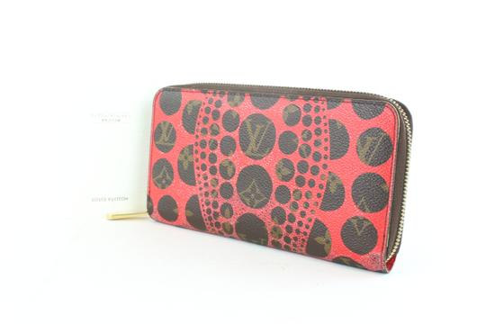 Louis Vuitton Sprouse Catogram Graffiti Rare Limited Wristlet in Red Image 1