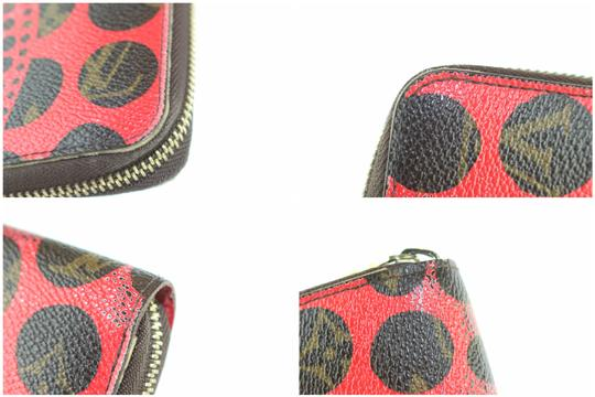 Louis Vuitton Sprouse Catogram Graffiti Rare Limited Wristlet in Red Image 10
