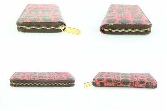 Louis Vuitton Sprouse Catogram Graffiti Rare Limited Wristlet in Red Image 6