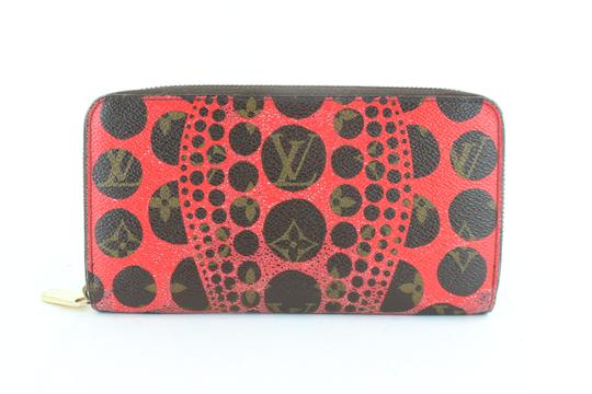 Louis Vuitton Sprouse Catogram Graffiti Rare Limited Wristlet in Red Image 7