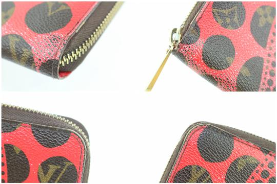 Louis Vuitton Sprouse Catogram Graffiti Rare Limited Wristlet in Red Image 8