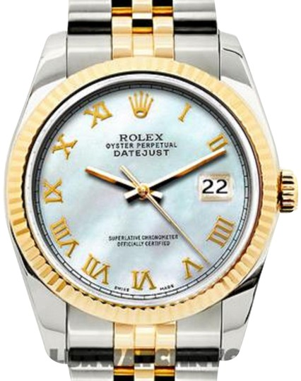 Preload https://img-static.tradesy.com/item/24442554/rolex-stainless-steel-ladies-datejust-gold-ss-with-box-and-appraisal-watch-0-1-540-540.jpg