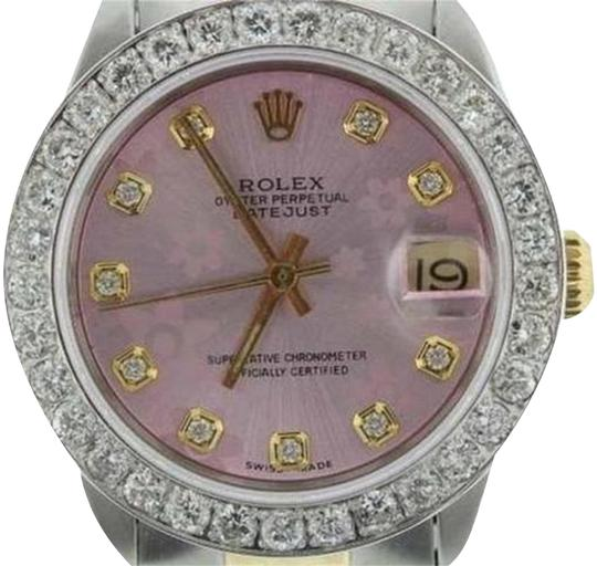 Preload https://img-static.tradesy.com/item/24442570/rolex-gold-and-stainless-steel-27ct-31mm-midsize-datejust-w-box-and-appraisal-watch-0-2-540-540.jpg