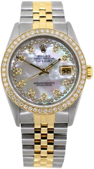 Preload https://img-static.tradesy.com/item/24442632/rolex-stainless-steel-and-gold-15ct-36mm-men-s-datejust-2-tone-w-box-and-appraisal-watch-0-2-540-540.jpg