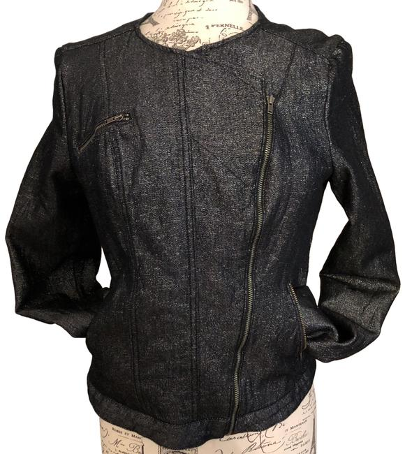 Preload https://img-static.tradesy.com/item/24442638/guess-charcoal-black-with-sparkles-moto-jacket-size-12-l-0-8-650-650.jpg