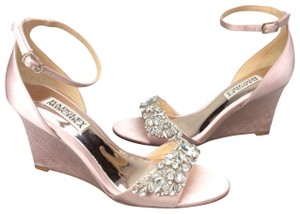 Badgley Mischka BLush Platforms