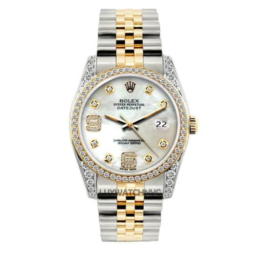 Preload https://img-static.tradesy.com/item/24442701/rolex-white-mother-of-pear-2ct-36mm-men-s-datejust-2-tone-w-box-and-appraisal-watch-0-0-540-540.jpg