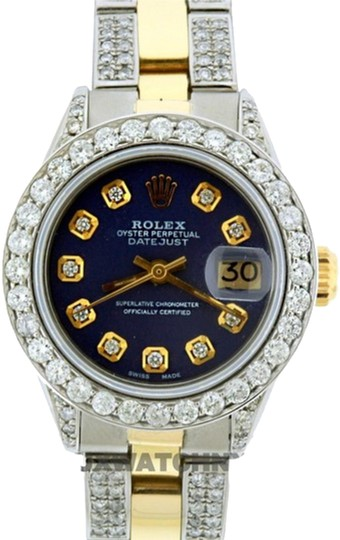 Preload https://img-static.tradesy.com/item/24442717/rolex-blue-34ct-26mm-datejust-gold-ss-with-box-and-appraisal-watch-0-1-540-540.jpg