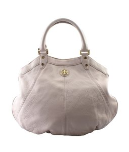 Tory Burch Leather Gold-tone Xnylon China Satchel in Pink