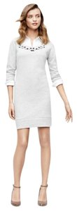 Ann Taylor short dress gray on Tradesy
