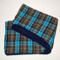 Boutique Double Sided Plaid & Faux Sherpa Infinity Scarf Image 2