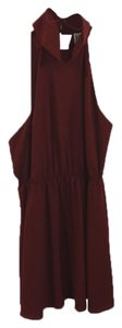 Haute Hippie Polyester Evening Night Out Spring Fall Dress