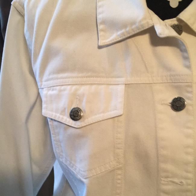 Chico's white Womens Jean Jacket Image 2