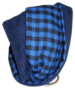 Boutique Double Sided Checker & Faux Sherpa Infinity Scarf