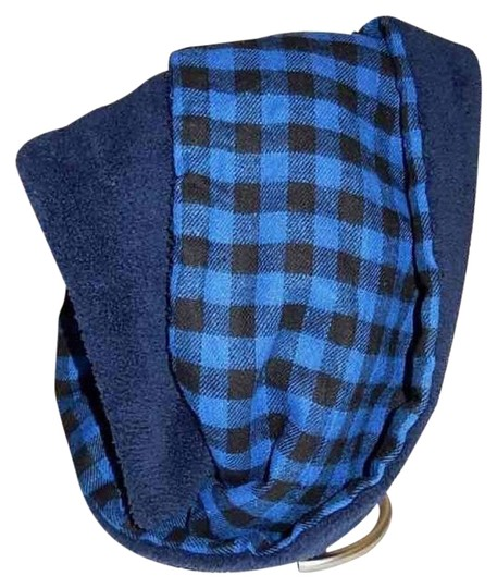 Boutique Double Sided Checker & Faux Sherpa Infinity Scarf Image 0