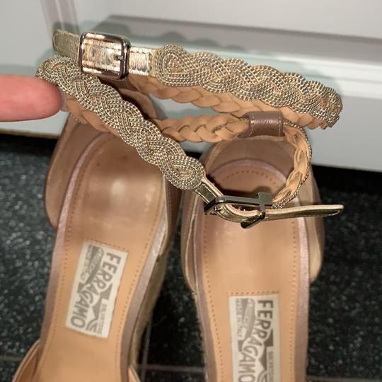 Salvatore Ferragamo nude/pinkish Wedges Image 2