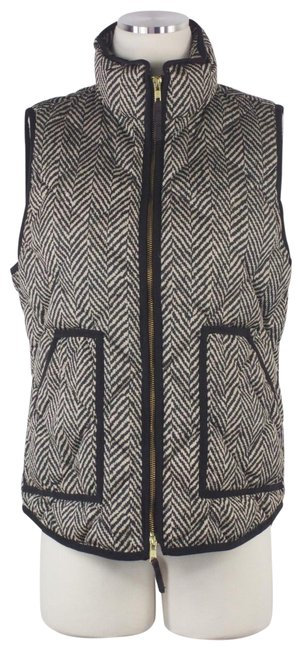 Preload https://img-static.tradesy.com/item/24443258/jcrew-brown-biege-excursion-herringbone-down-puffer-quilted-gold-zipper-s-vest-size-10-m-0-1-650-650.jpg