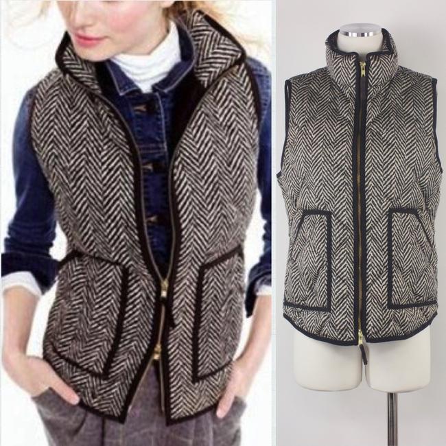J.Crew Preppy Fall Winter Layer Classic Vest Image 1