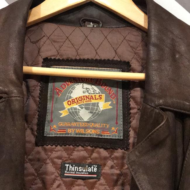 Wilsons Leather Brown Leather Jacket Image 2