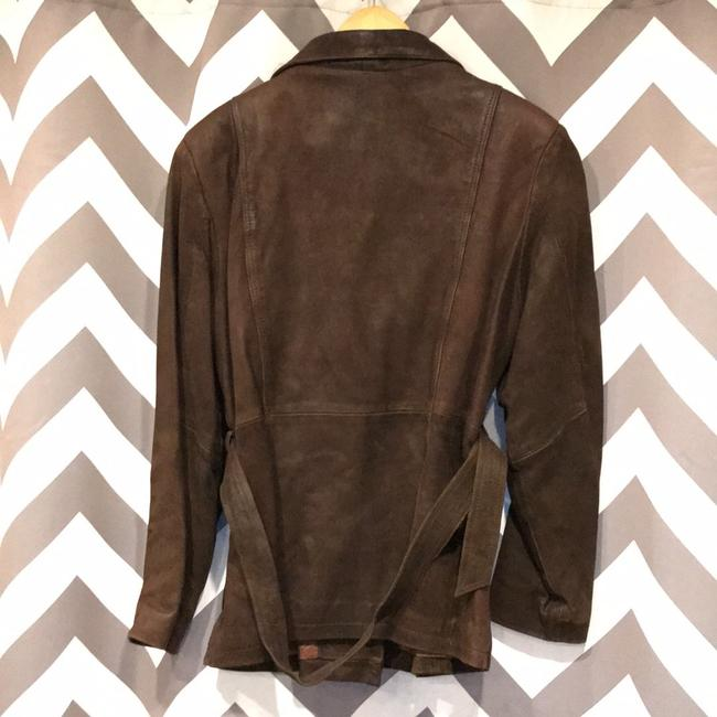 Wilsons Leather Brown Leather Jacket Image 3