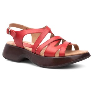 Dansko red Sandals