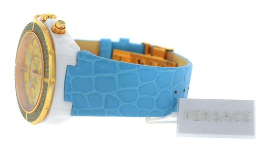 Versace New Versace DV One Cruise 28CCP12D585 S531 Ceramic 42MM Topaz Turquois Image 5
