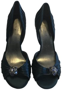 Nine West Satin Midnight blue Pumps