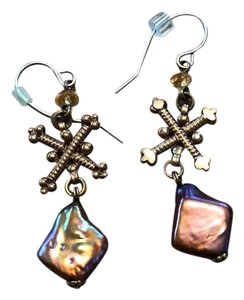 Stephen Dweck signature dweck drop earrings