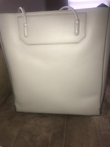 Alexander Wang Luxury Leather Tote in Light Grey