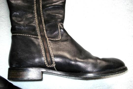 Boden Made In Spain Genuine Leather Suede Kneehigh Black Boots Image 3