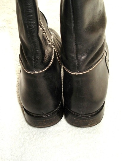 Boden Made In Spain Genuine Leather Suede Kneehigh Black Boots Image 8